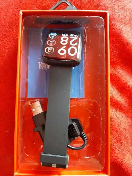 smartwatch H19 sumergible ritmo cardiaco notificaciones
