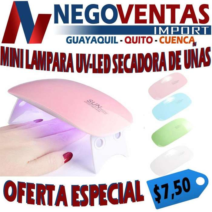 MINI LAMPARA UV-LED SECADORA DE UÑAS DE OFERTA
