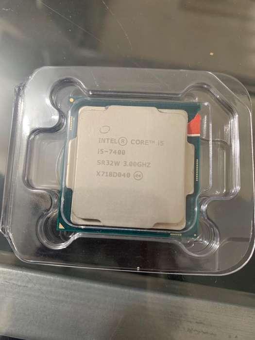 Procesador Intel Core i5 7400 3.0 Ghz USADO de Séptima Generación Cali