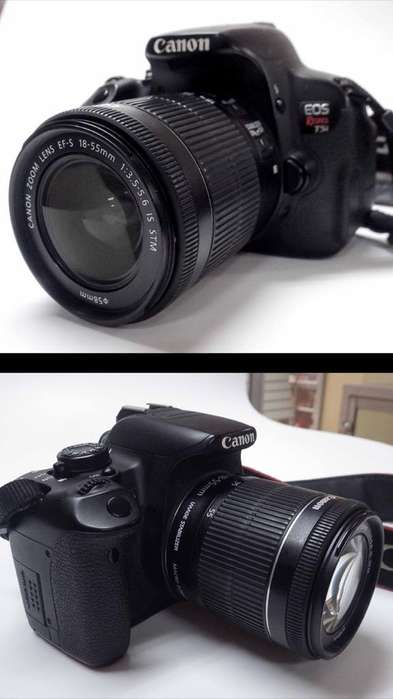 Camara Canon Eos Rebel T5I