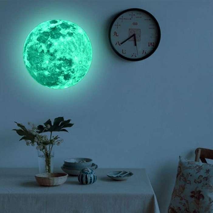 LUNA 3D - Se ilumina en la oscuridad