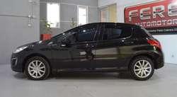 Peugeot 308 allure nav 1.6 diesel 2013 5 puertas color negro