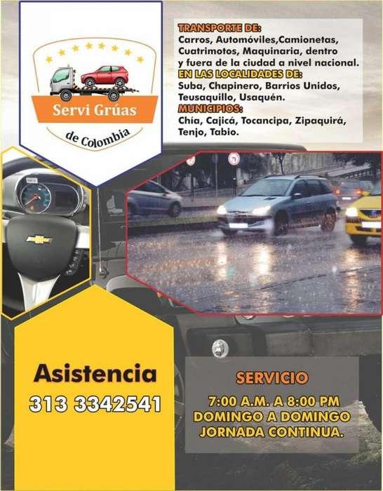 Servicio de Grua en Bogota y Alrededores Call Center 313 334 25 41