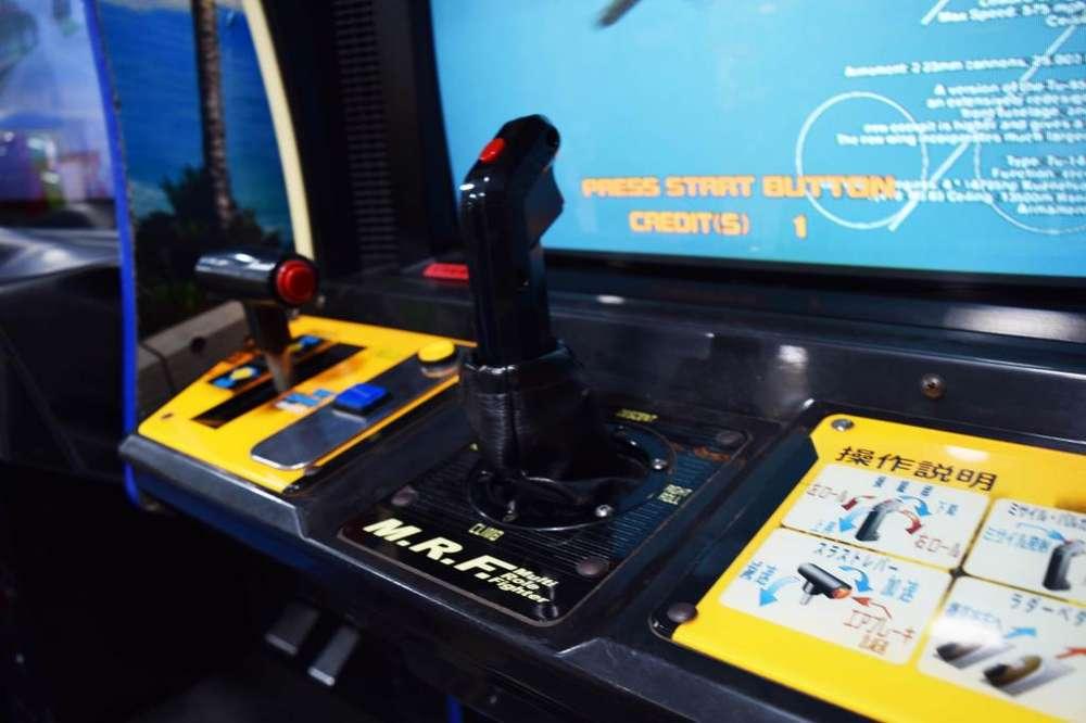 Video Juegos Sega Strike Fighter Simulador Clásica