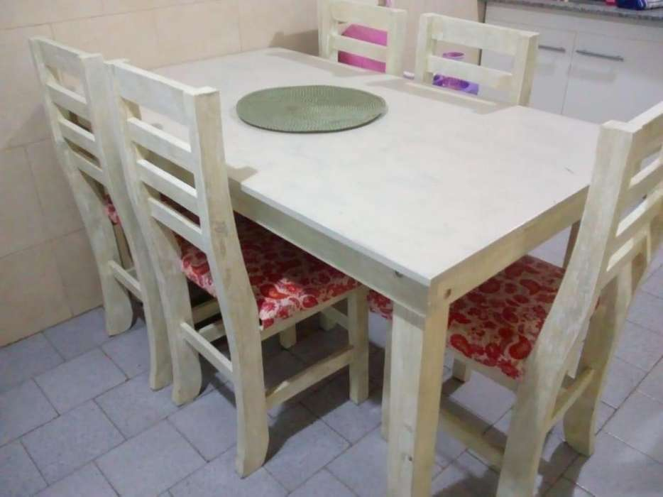 Mesa Y 6 <strong>silla</strong>s Decape