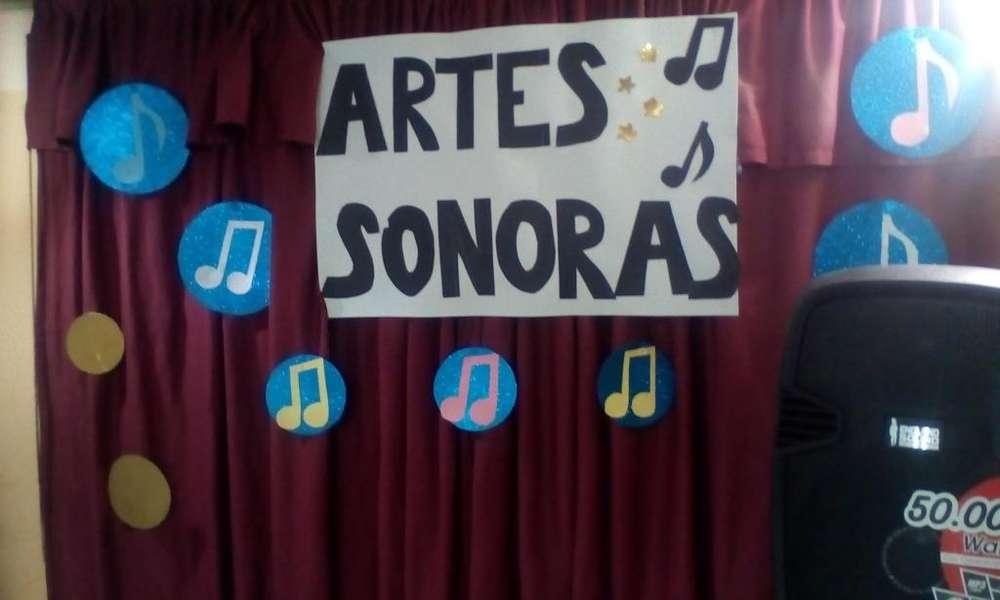 Escuela de Música <strong>arte</strong>s Sonoras. Sector Norte. Piano-Guitarra-Violín-Canto. Informe: 2890672-0969908604