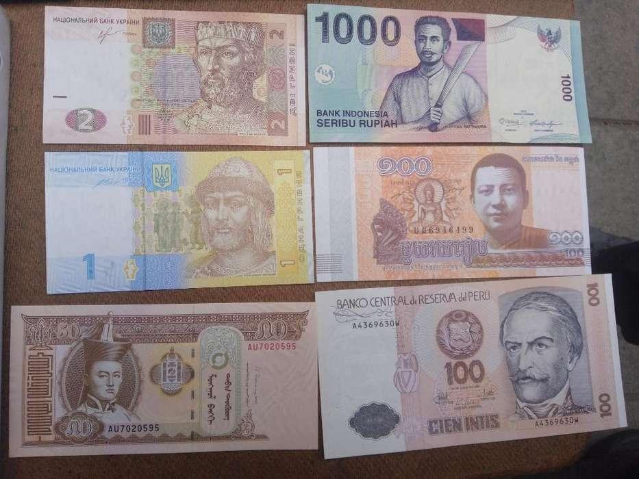 Billetes Del Mundo con Envío