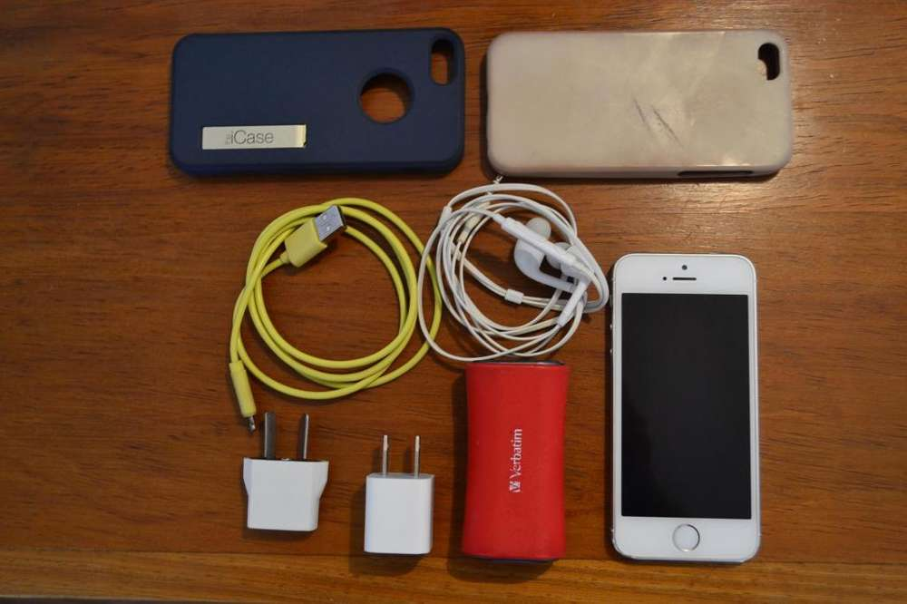 Iphone 5s 32GB y ACCESORIOS ¡Impecable estado!