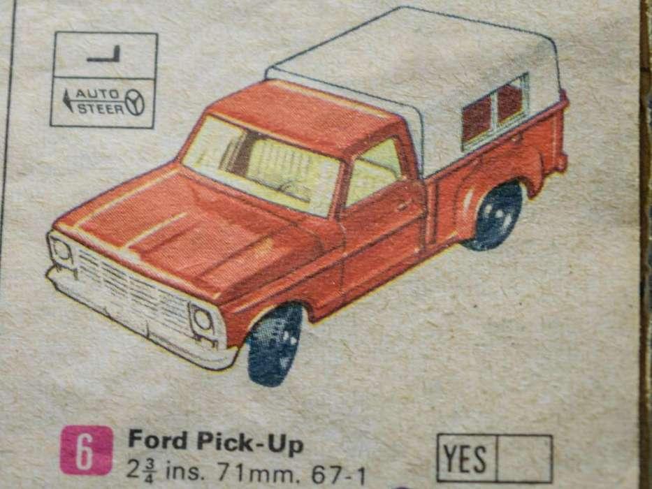 Matchbox N6 Inglaterra Ford PickUp