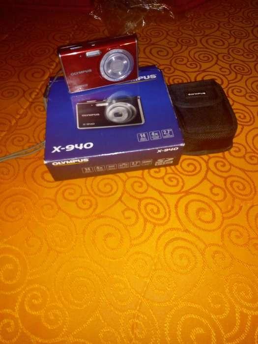Camara digital Olympus X940 14 megapxeles con <strong>accesorios</strong> 3175033884