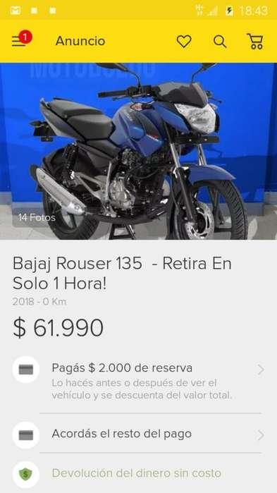 Moto Rouse Azul Modelo 2016