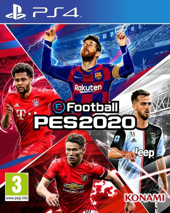 Pes 2020 <strong>playstation</strong> 4
