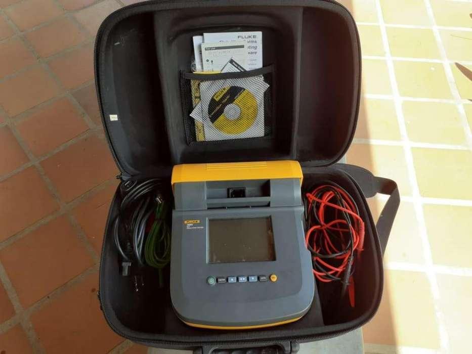 Comprobador de aislamiento Fluke 1550C FC 5 kV
