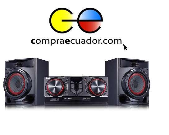 Lg Mini Componente Equipo Sonido 5500w Bluetooth USB <strong>karaoke</strong>