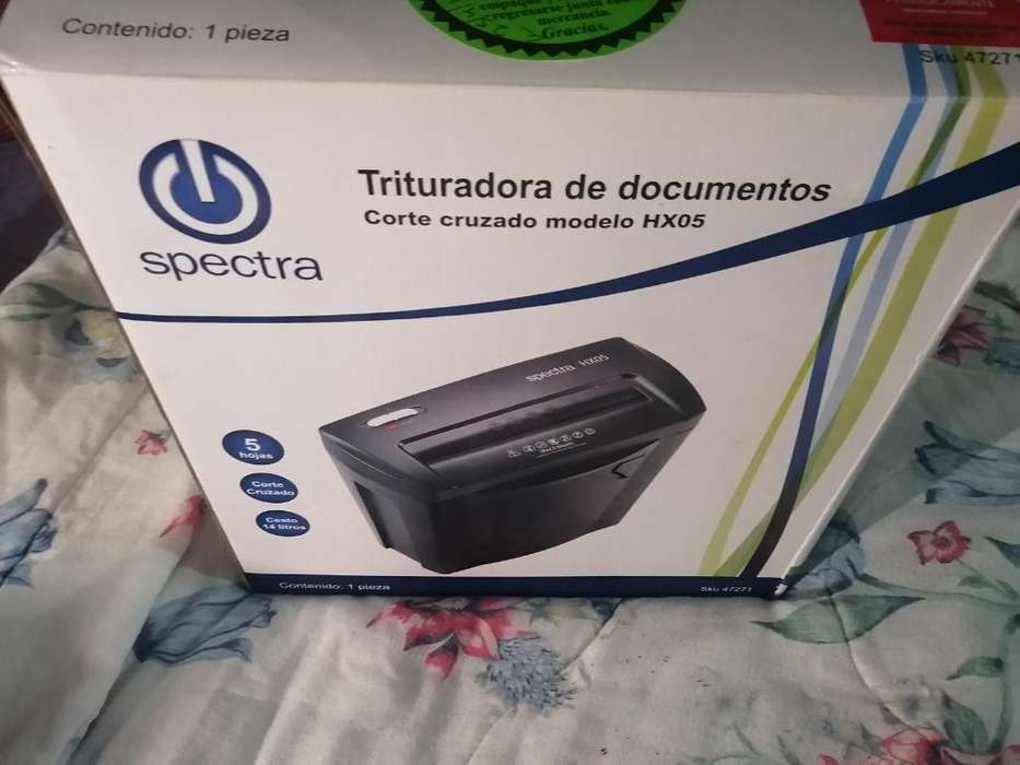 Trituradora de Documentos Electra