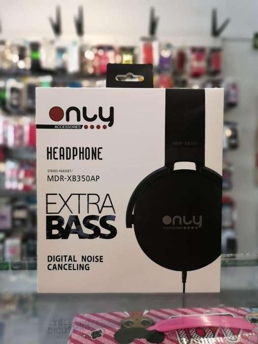 Auricular Only Extra Bass