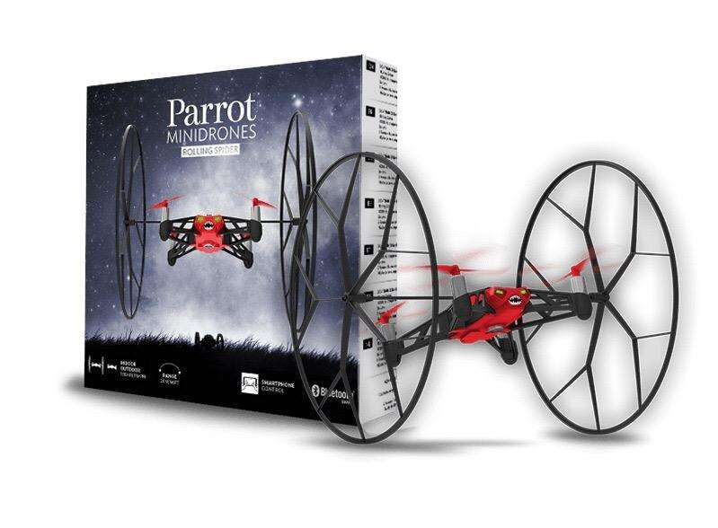 Parrot. Mini Drone Rolling Spider