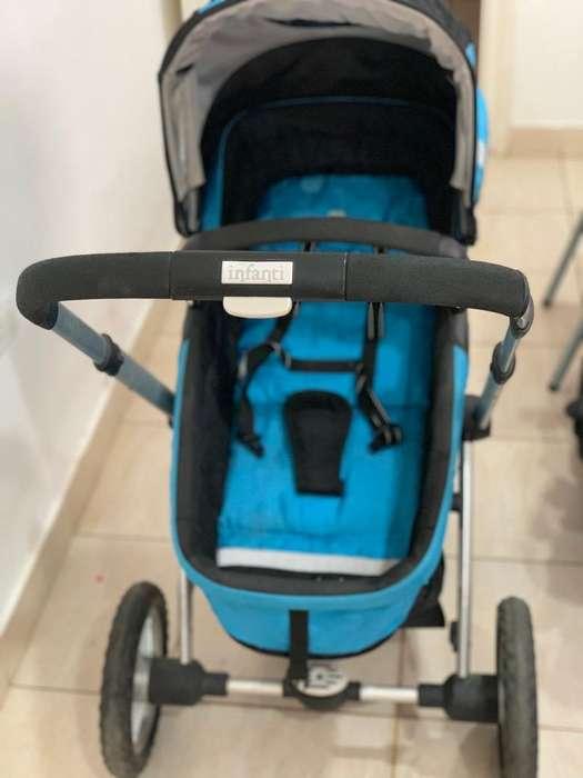 Cochecito Bebe Infanti Epic 3 en 1