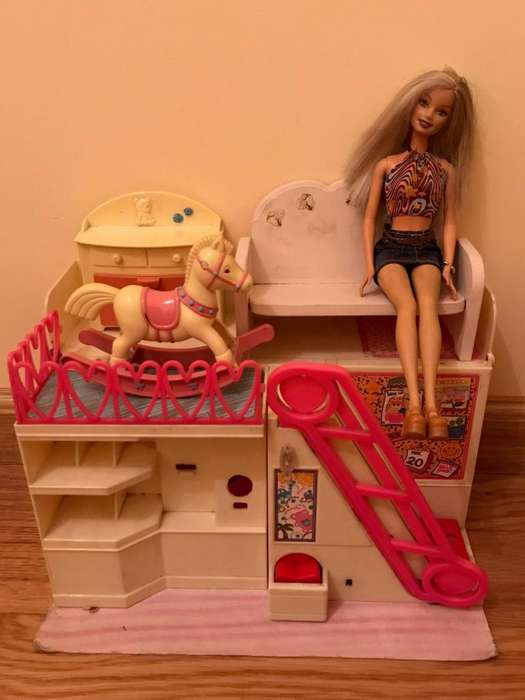 Mueble para barbie living room