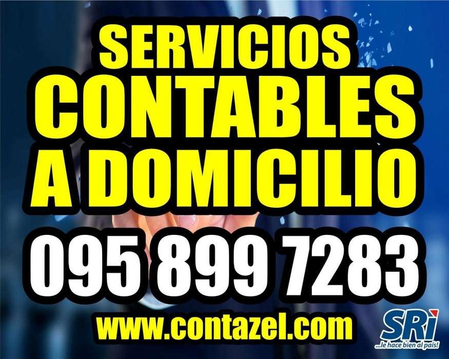 DECLARACIONES SRI, IVA, Renta, Anexos, Impuestos, Auditorias SERVICIOS CONTABLES y TRIBUTARIOS a Domicilio en QUITO, EC