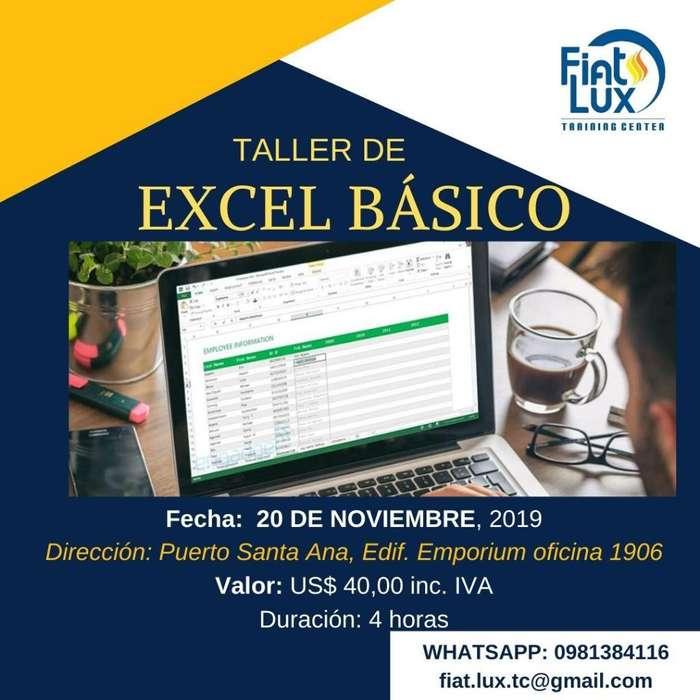 <strong>taller</strong> de Excel Info Al 0981384116