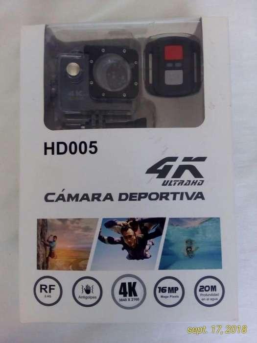 CAMARA DEPORTIVA 4K 2.4G Ultra HD