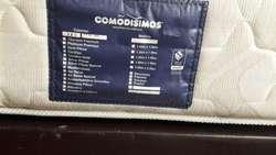 Base cama  Colchón comodisimo