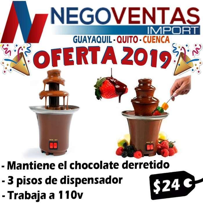 PILETA DE PARA CHOCOLATE DE 3 PISOS