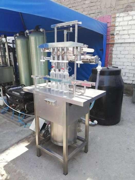 maquina llenadora de liquidos usada