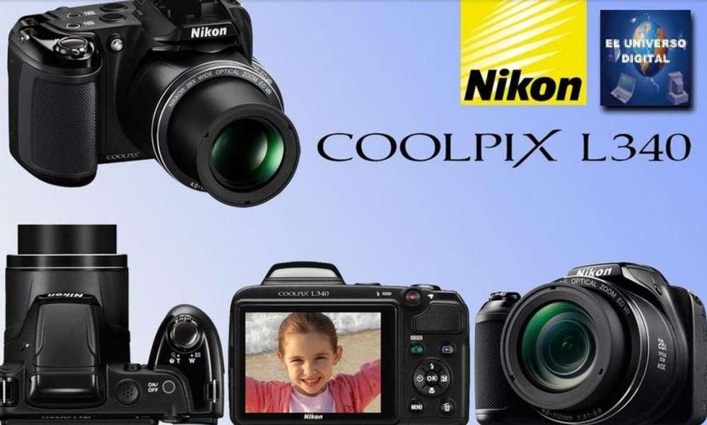 Nikon L340 Rosario,Santa Fe,San Nicolas,Rafaela,Parana,Venado Tuerto,Nikon L340