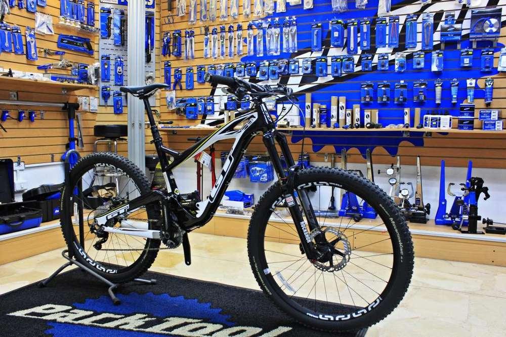 <strong>bicicleta</strong> Doble Suspencion marca GT full Carbon 50 OFF