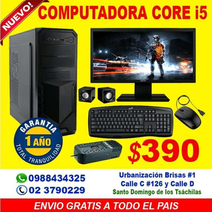 Computadora Core I5 8gb Ram 500gb Disco Duro Hoy En 390