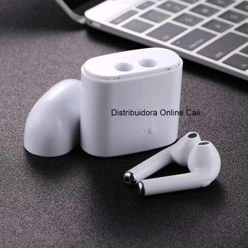 Audífonos I9 Bluetooth Inalámbrico 2 Auriculares Cargador