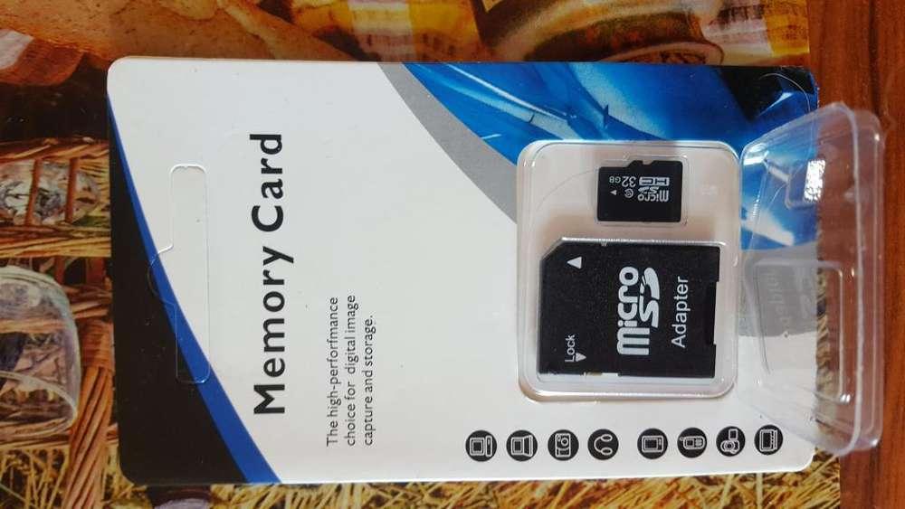 Tarjeta Micro Sd 32 Gb Clase 10 Totalmente Sellada Sellada