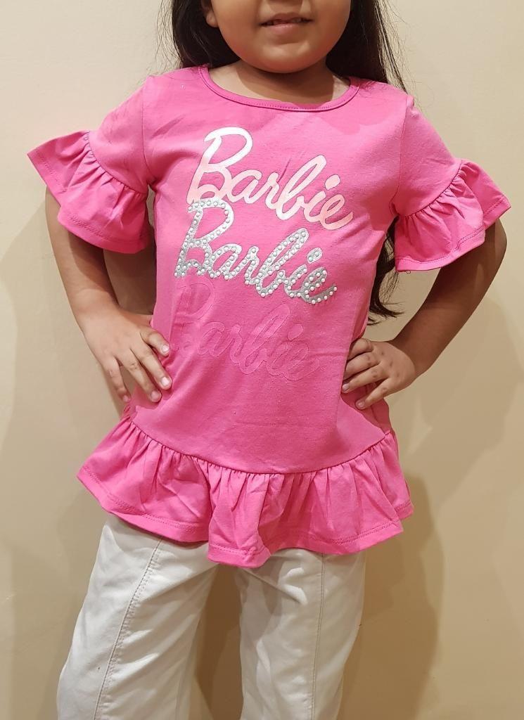 Lindo Polo Barbie en Talla 8