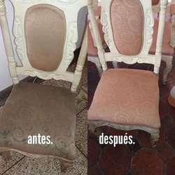 Lavado profundo y al seco de muebles, colchones y tapiceria en general.