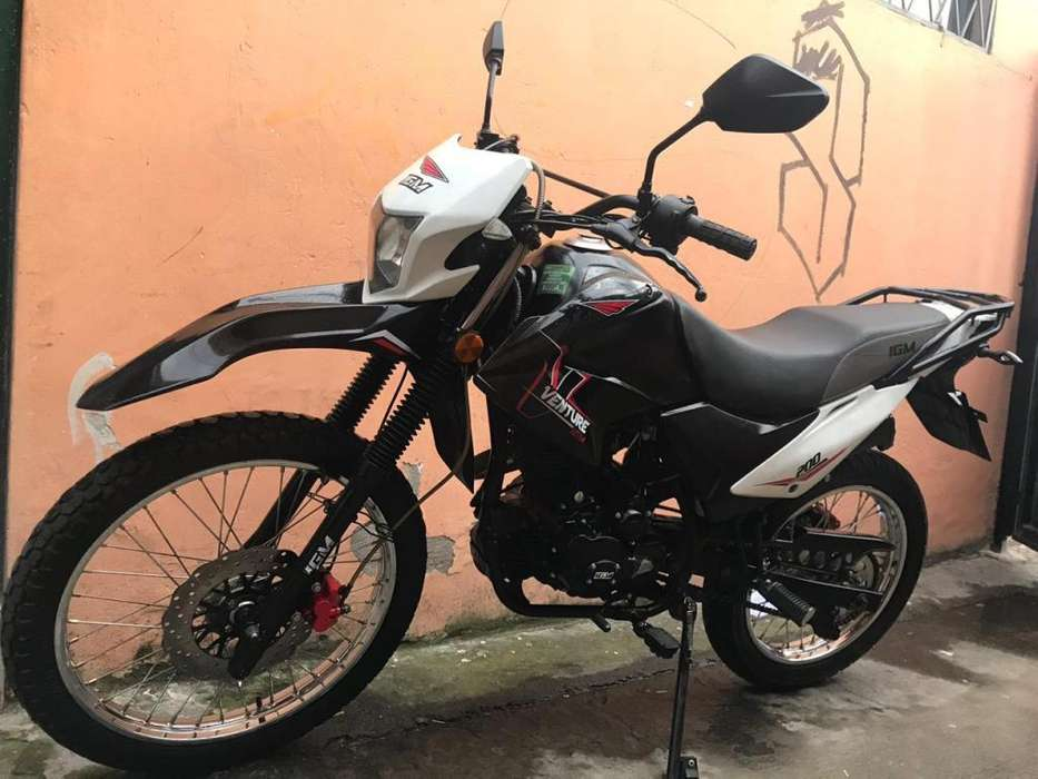 VENDO MOTO IGM 200CC COMO <strong>nueva</strong>
