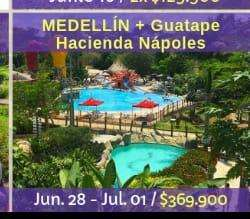 MEdellinn Guatapé, Haciénda Nápoles 28 junio-julio 01-2019
