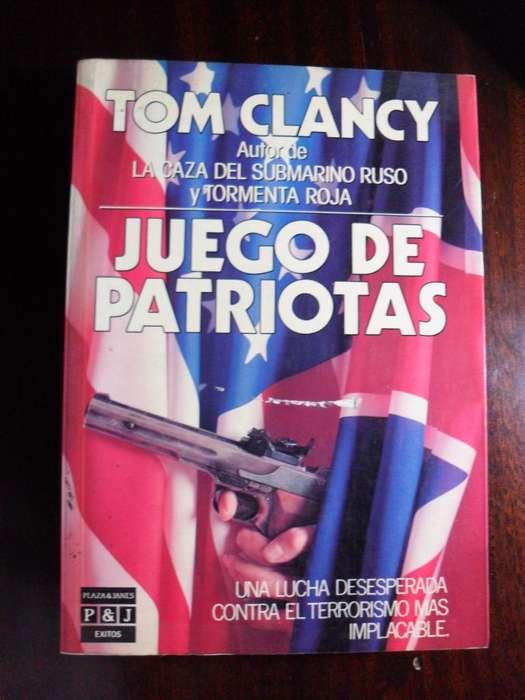 JUEGO DE PATRIOTAS TOM CLANCY 548 PAGINAS PLAZA&JANES