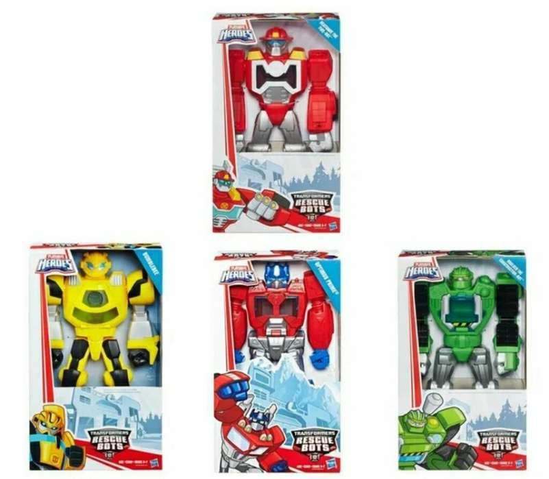 Transformers Rescue Bots Nuevo en Caja