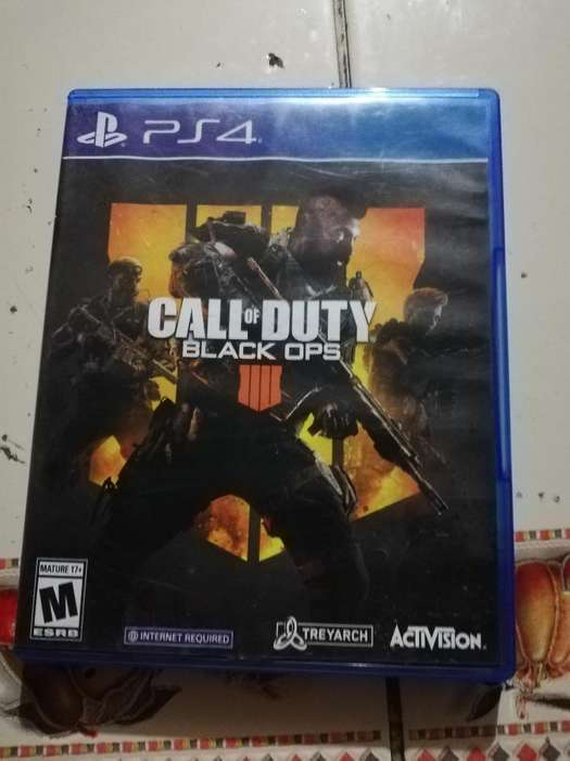 Vendo Call Of Duty Black Ops 4 , Ps4