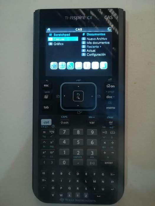 Se Vende Calculadora Texas Nspire Cx con
