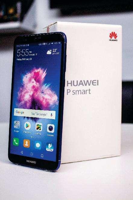 Huawei p smat 2018 en caja