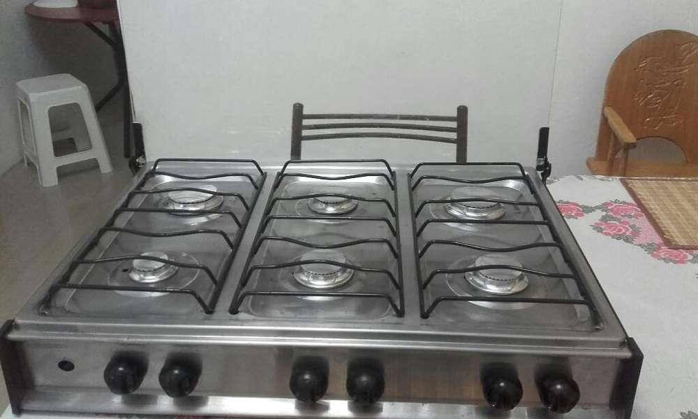 Cocineta 6 Quemadores Ecogas
