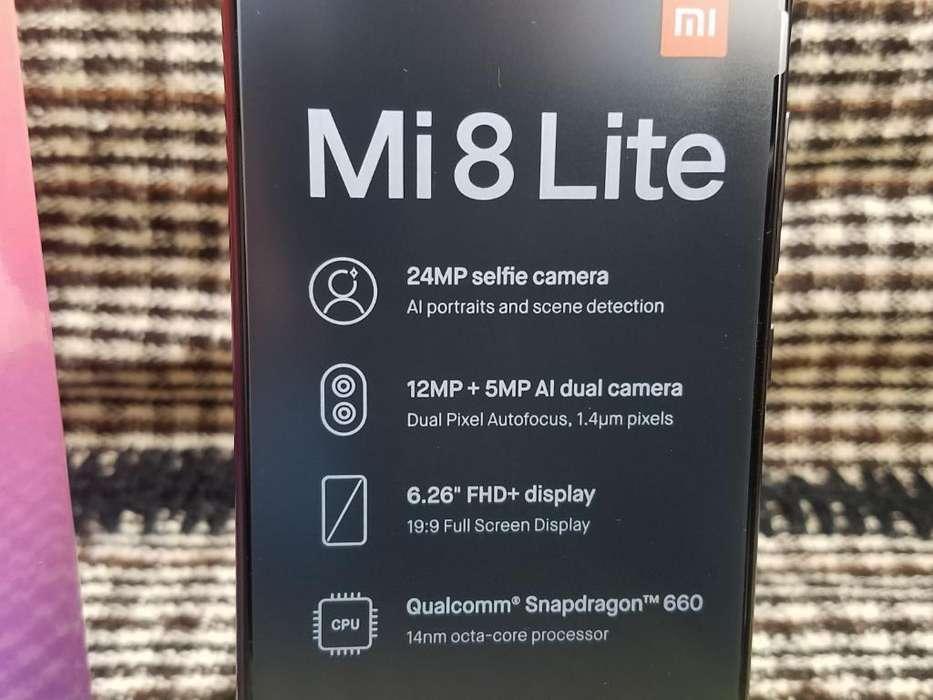 Xiaomi Mi8 Lite 4gb. Ram 64gb. Rom