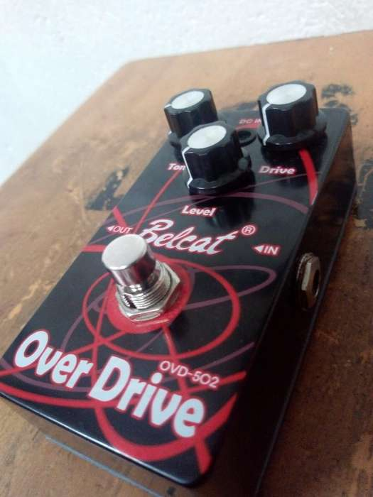 Pedal Belcat Overdrive