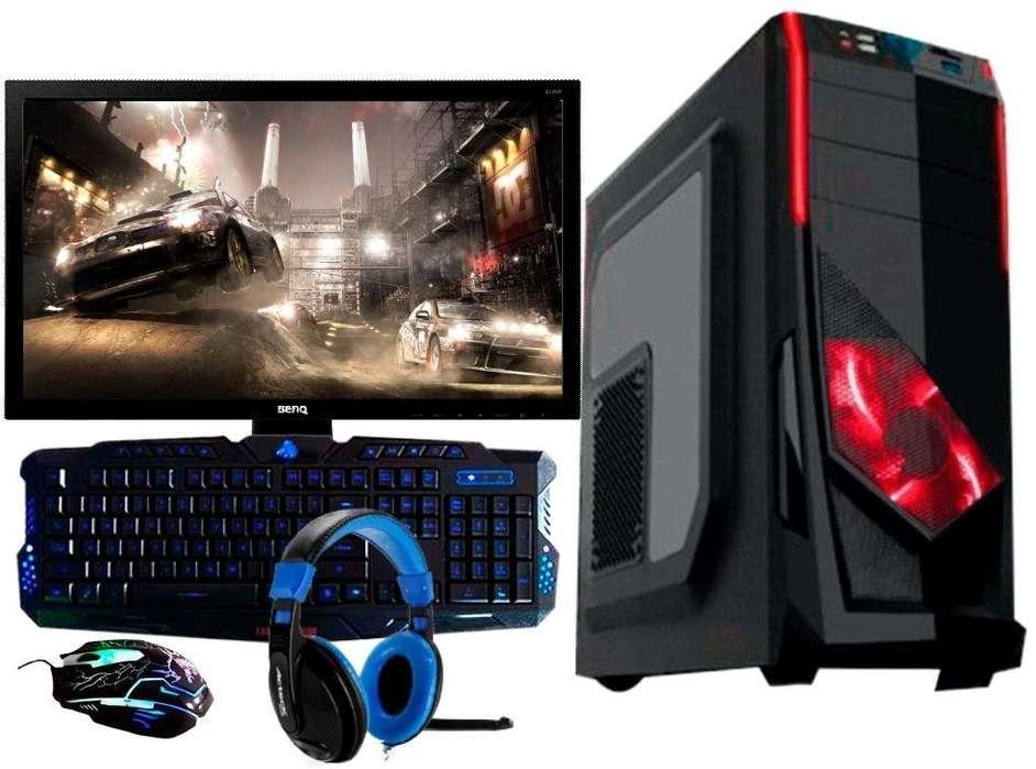 Computadoras Nuevas Gamer A8 / A10 Completas Fuertes Rapidas