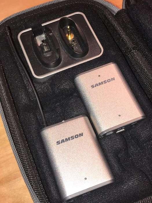 Microfono Corbatero Samson Ideal Reflex