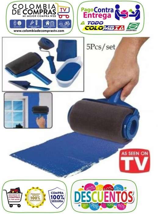 Rodillo De Pintura Pintar Recargable Tv Pintar Casa, Nuevos, Originales, Garantizados...