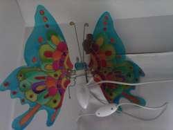 Luz Mariposa acrilico esmaltado nueva 350